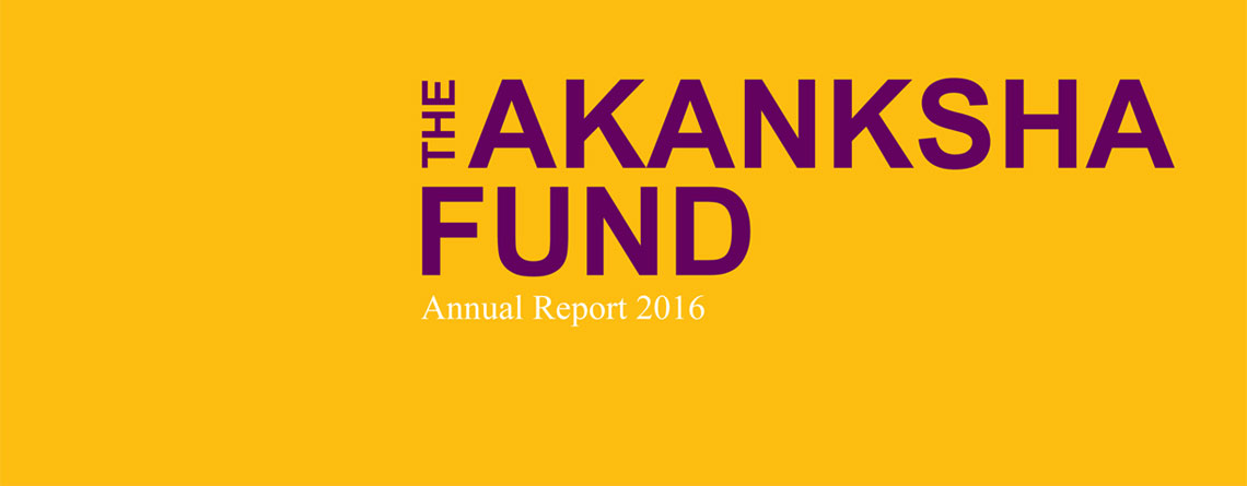 The Akanksha Fund's First Annual Report