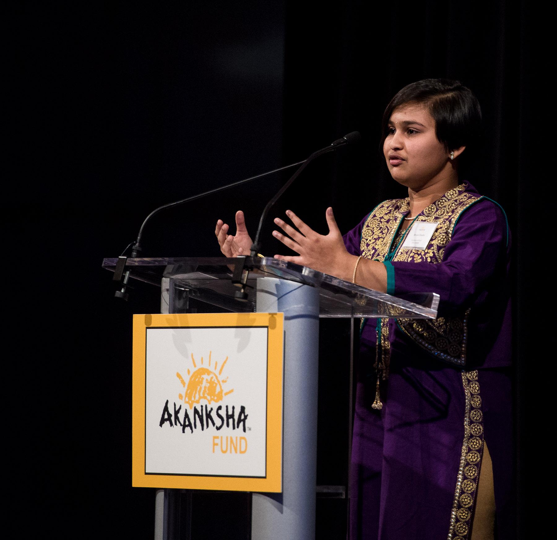 Mrunal Khadke, Akanksha School Alumna